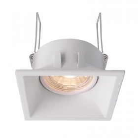 LED spotlight 5W angle 38 square bu