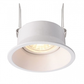 LED spotlight 5W recessed round lamp holder adjustable angle tight hole 85mm
