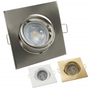 LED spotlight 5W lamp adjustable recessed spot light 38 degree GU10 hole 8cm