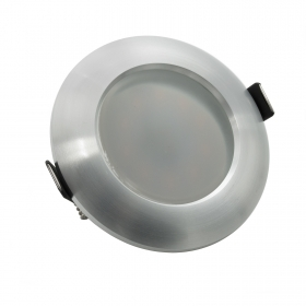 Spotlight adjustable LED 8W recessed diffuser glass to diffuse light GU10 hole 68mm