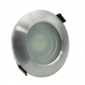 LED spotlight 5W spot 38 ° c flush-mounted diffuser-adjustable glass GU10 hole 68mm