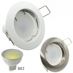 LED spotlight 7W MR16 diffused