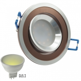 LED spotlight 7W adjustable 12