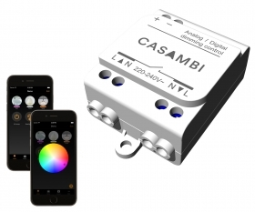 Controller Casambi CBU-ASD module dimmer LED 0-10V DALI bluetooth SMART HOME
