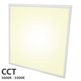 LED panel ultra slim 48W CCT light from 3000K to 5500K recessed dimmable 24V