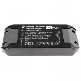 Power supply, dimmable LED driver 500mA 22w 20-44V 220-240V AC 50-60Hz