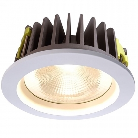 Spotlight dimmable led 37w recessed hole 210mm COB LED driver DALI 3200 lumens