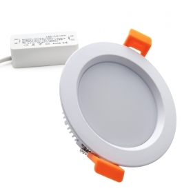 LED spotlight 8W panel matte c