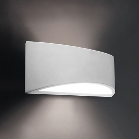 Applique modern plaster light