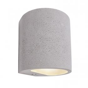 Wall sconce modern LED wall lamp in concrete with double beam light wall G9 220V