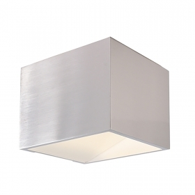 Applique LED 4W square wall-lamp aluminum dual beam light 3000K 220V