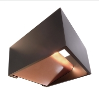 Applique wall 5W LED lamp square do