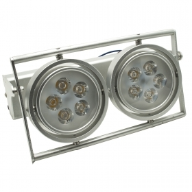 Spotlight applique wall LED 10W dual lamp swivel light wall 220V IP20