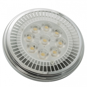 Lamp AR111 9-LED power 12W warm light 3000K 12V G53 high power 850lm