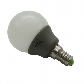 Lamp bulb glass LED E14 3W mad