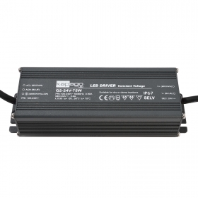 Power supply external AC/DC 75W 24V 3A LED strips 220V IP67