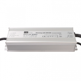 Power supply dimmable 150W aluminum 12V 12.50 A 1-10V external LED lights IP67