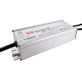 Power supply 40W 24V 1.67 A dimmable 1-10V Mean Well LED lighting HLG-40-24B P67