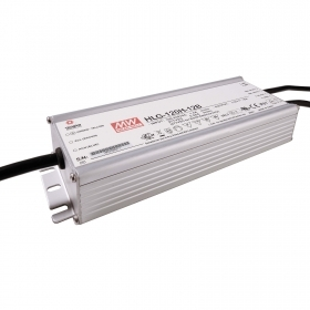 Power supply, 120W Mean Well dimmable 1-10V 12V 10A LED lamp HLG-120H-12B P67