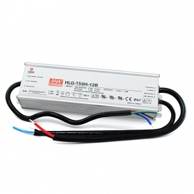 Power supply 150W MeanWell dimmable 1-10V 12V 12.5 A LED lighting HLG-150H-12B IP67