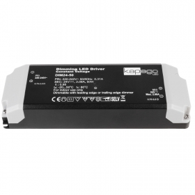 Power supply dimmable 12-50W transf