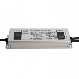 Power supply 120W IP76 MeanWell ELG-150-24DA DALI 24V 6.25 A dimmable LED 220V
