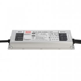 Power supply dimmable 240W Mean Well ELG-240-24DA DALI IEC 62386 24V IP76