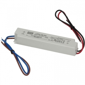 Power supply 18W Mean Well LPH-18-24 24V 0.75 A for LED lights IP67