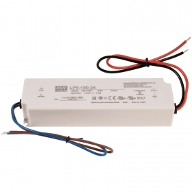 Power supply 35W Mean Well LPV-35-24 24V 1.50 A transformer for LED lights IP67