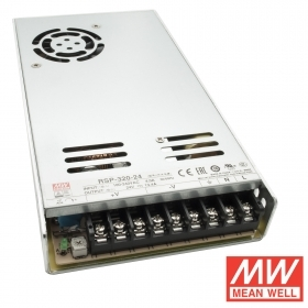 Stabilized power supply pro 350W 24V 14.6 fan-MeanWell RSP-350-24 230V