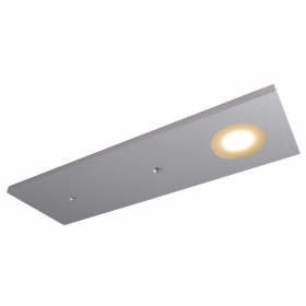 Bar plate, 1 LED COB 2W ultra slim light 2700K shelves rv boat 12V IP20