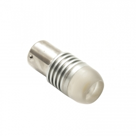 LED light bulb bayonet BA15S P21W 3W single contact reversing light 12V 6000K