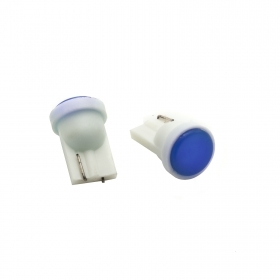The pair LED bulbs T10 colored