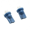 Couple bulbs 4 LED T10 W5W blue light decorative 1W car tunning 12V