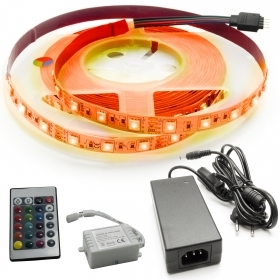 KIT strip 300 LED 5050 35W con