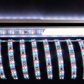 Adhesive strip 30W 432 LED 5050 light multicolor RGB CW WW 12V 3M IP20 RA>90