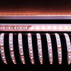 Strip light 80W 288 LED 5050 light colored RGBW NW CW WW 24V 3M RA90