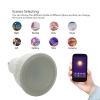 LED spotlight dimmable SMART GU10 5W RGBW 2700K WiFi does not require a HUB Alexa IFTTT Google Android smartphone iOS