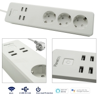 Scarpetta SMART power strip 3 socke