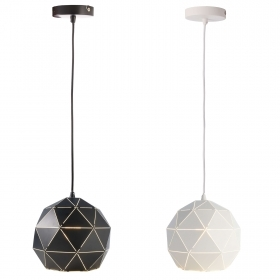 Chandelier, LED ball 25cm pend