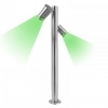 Streetlight LED WiFi SMART adjustable steel garden GU10 IP44 RGBW CCT 100cm