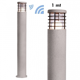 Lamp WiFi LED garden steel style cement 10W E27 SMART light RGBW 100cm