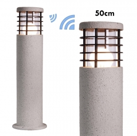 Lamp WiFi LED garden steel style stone 10W E27 SMART light RGBW 50cm