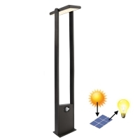 LED streetlight solar panel adjusta