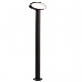Street lamp modern LED 9W aluminium external light avenue garden 3000K IP54 80cm