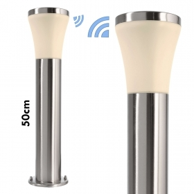 Lantern 50cm steel pole LED garden IP44 lamp E27 SMART WIFi RGB RGBW