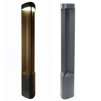 Street lamp modern pole anthracite