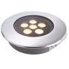 The walkable recessed floor LED 11W IP67 spotlight spot segnapassi hole 150mm
