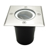 Spotlight floor 8W GU10 LED spotlight is carriageable recessed ground path indicators IP65