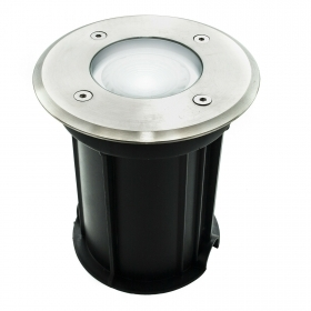 Spotlight the walkable recessed ground outdoor IP65 GU10 spot light 38 degree 5w yield 50w